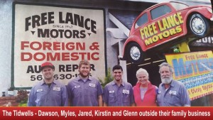 Auto repair mechanics in Long Beach, CA - Meet  the Tidwells – Dawson, Myles, Jared, Kirstin and Glenn